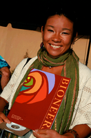 At the Bioneers conference