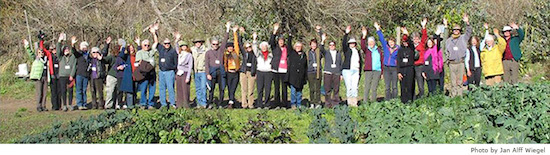 Environmental Forum of Marin Master Class participants