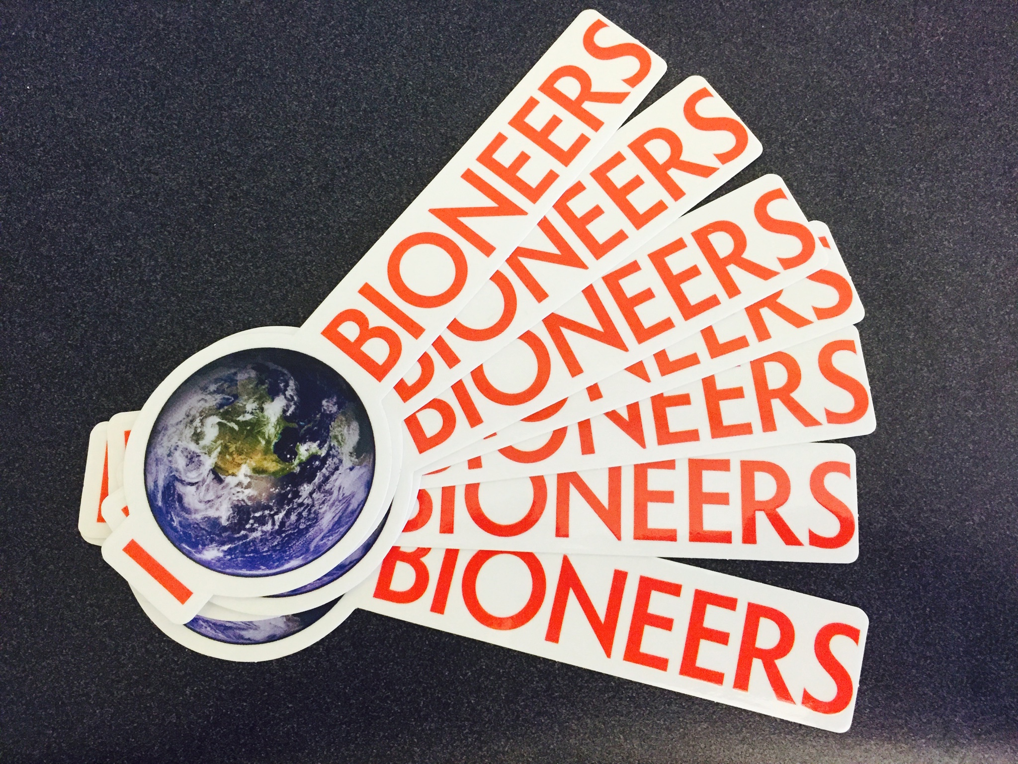 Design a Sticker & You Could Win a Bioneers Conference Pass!