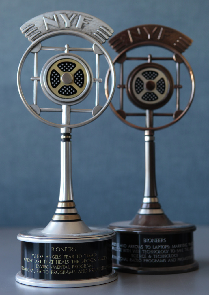 Bioneers Radio Series Receives 11 Communicator Awards
