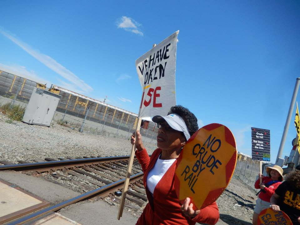 Grassroots Action: Braving The Blast Zone To Stop Oil Trains