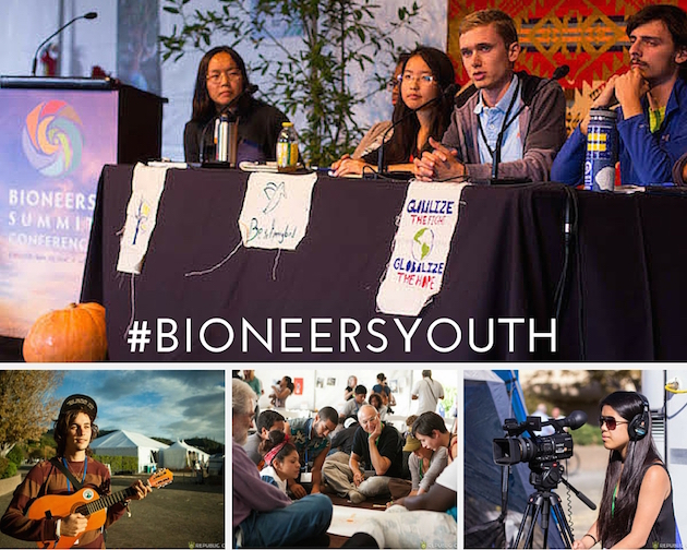 Bioneers Youth Leadership Program photos by Republic of Light