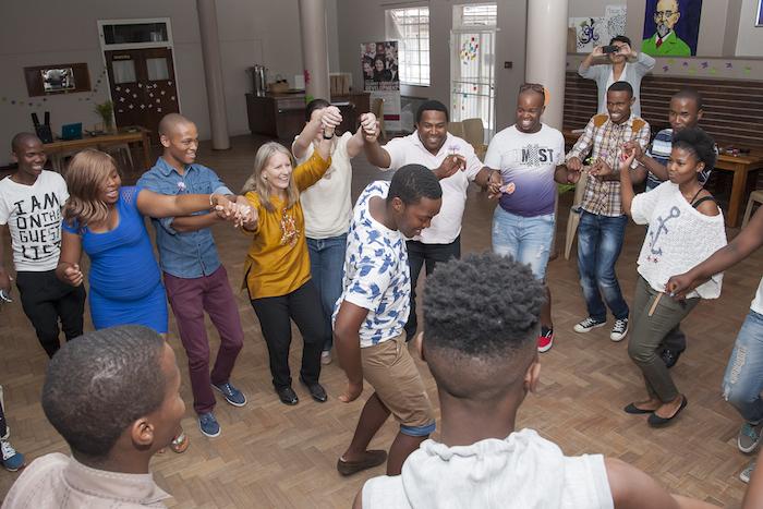 Cynthia Brix dancing SA