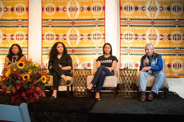 Indigenous Forum 2014 Oren Lyons © Zoe Urness