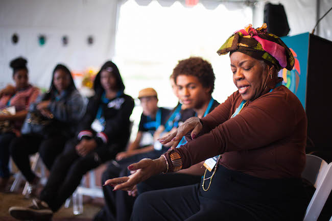 Luisah Teish Youth Mentor Bioneers 2015 © Republic of Light 650px