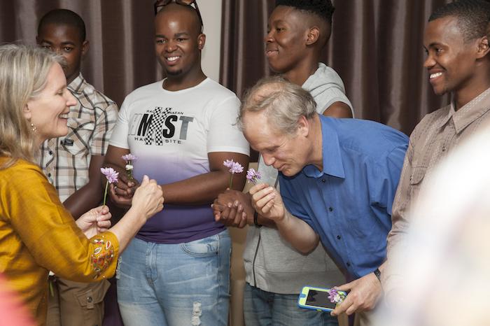 Cynthia Brix and Will Keepin Gender Reconciliation International workshop