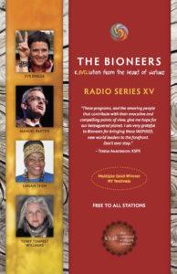 Bioneers Radio Series XV Brochure