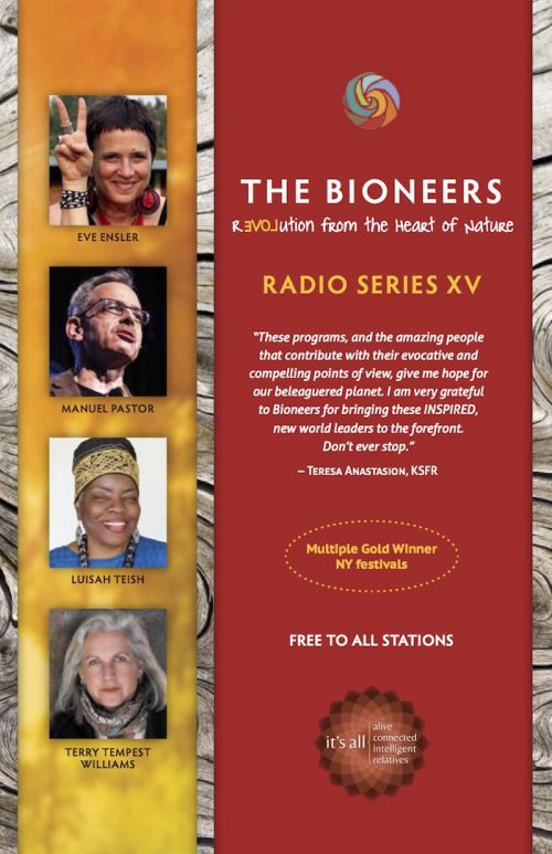 Bioneers Radio Series XV Wins 8 Communicator Awards