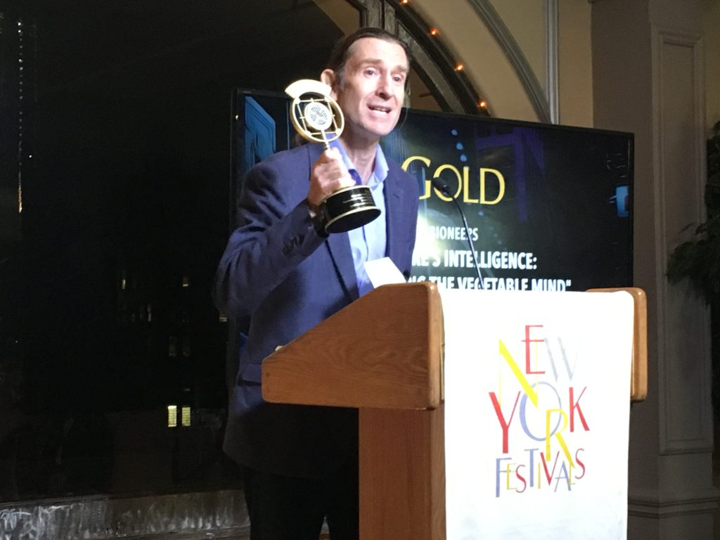 Bioneers Radio Wins Gold at New York Festivals