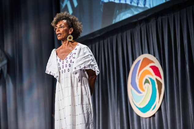 Fania Davis at Bioneers 2015 Conference, Photo by Nikki Richter