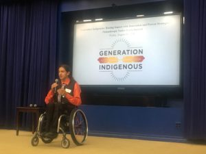 Indigeneity Program Presents Native Youth Leadership Initiative at the White House