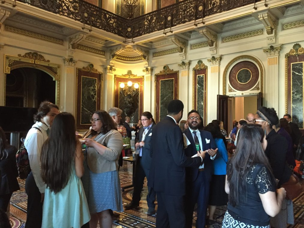 Native Americans in Philanthropy and Generation Indigenous reception.