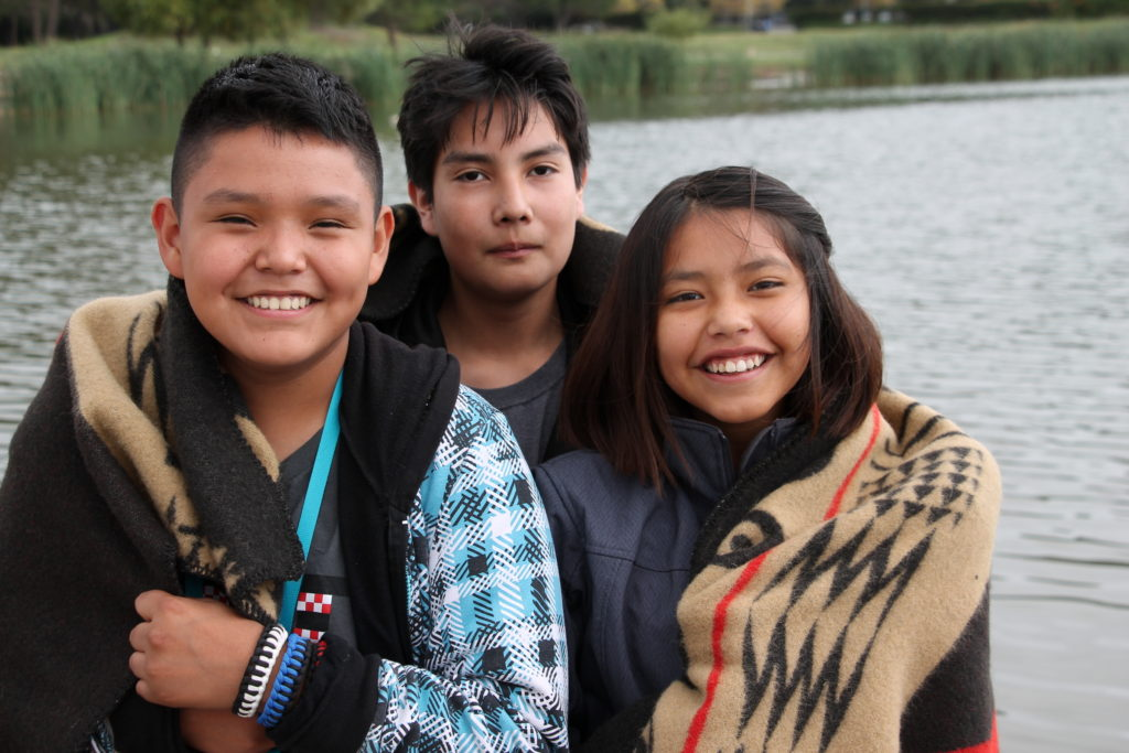 Our Native youth honored guests at the 2015 Bioneers Conference