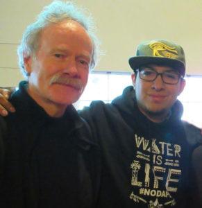 Arty Mangan and Ernesto Reyes