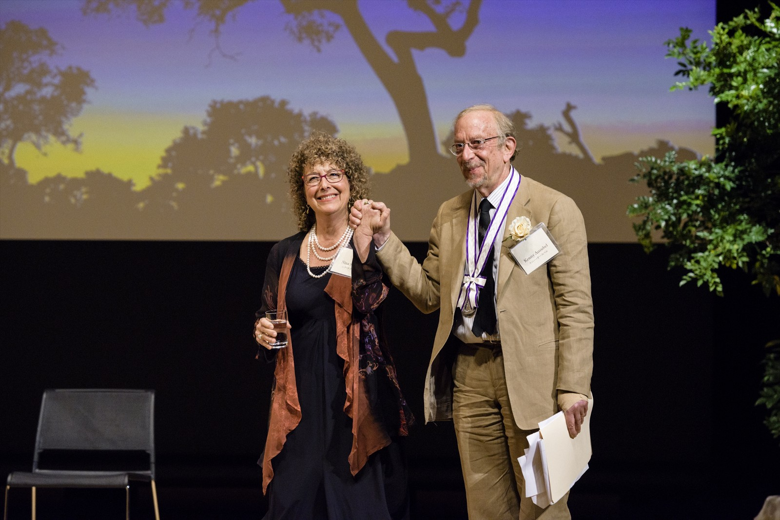 Bioneers Co-Founders Recognized as Trailblazers in Restoring the Earth, Communities: Kenny Ausubel and Nina Simons Receive the Goi Peace Award