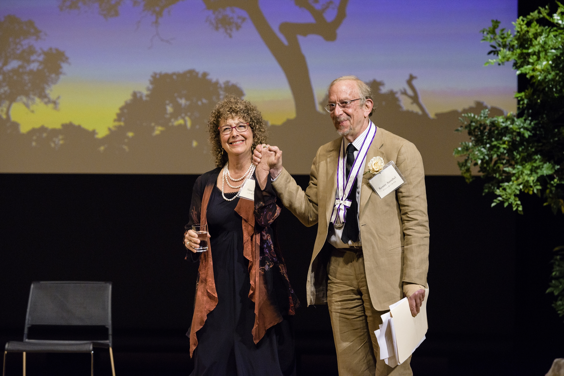 Bioneers Co-Founders Travel to Japan to Accept Goi Peace Award