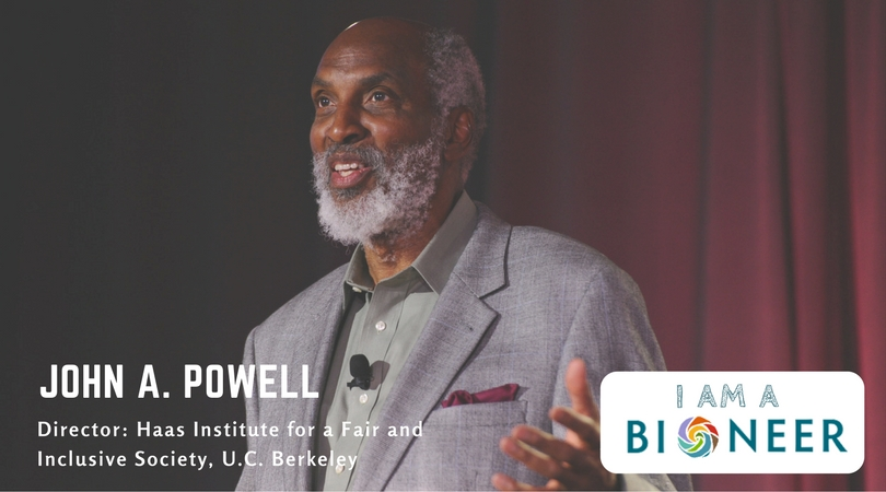 Diverse Backgrounds and Ideas Bring Value to Bioneers in Partnership With john a. powell