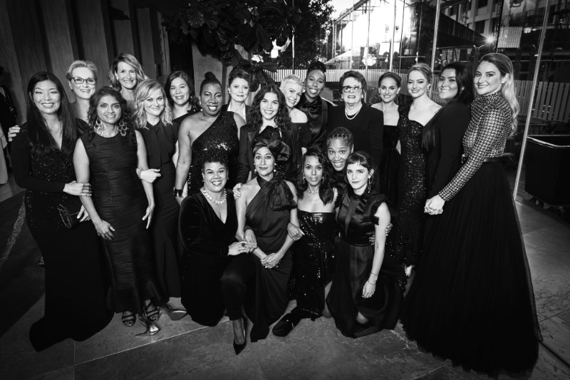 #TIMESUP at the Golden Globes