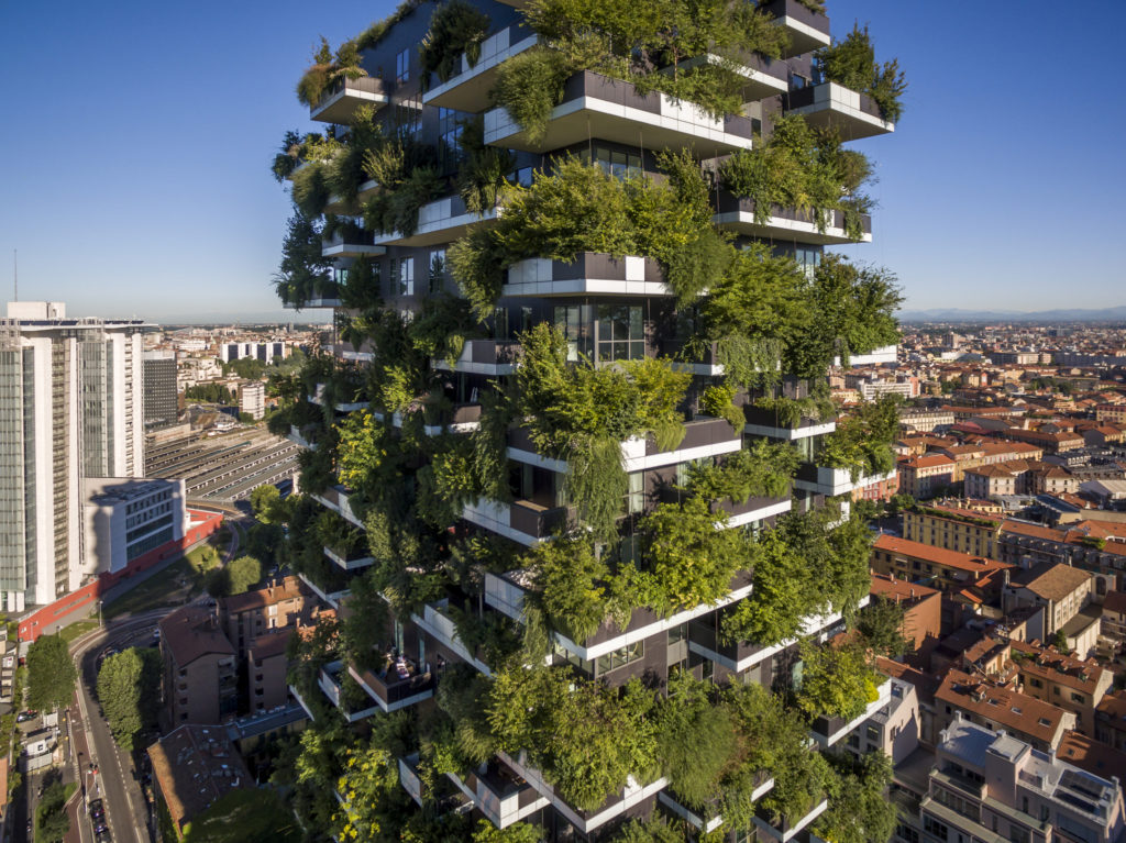 Elevating Nature: Milan's Bosco Verticale