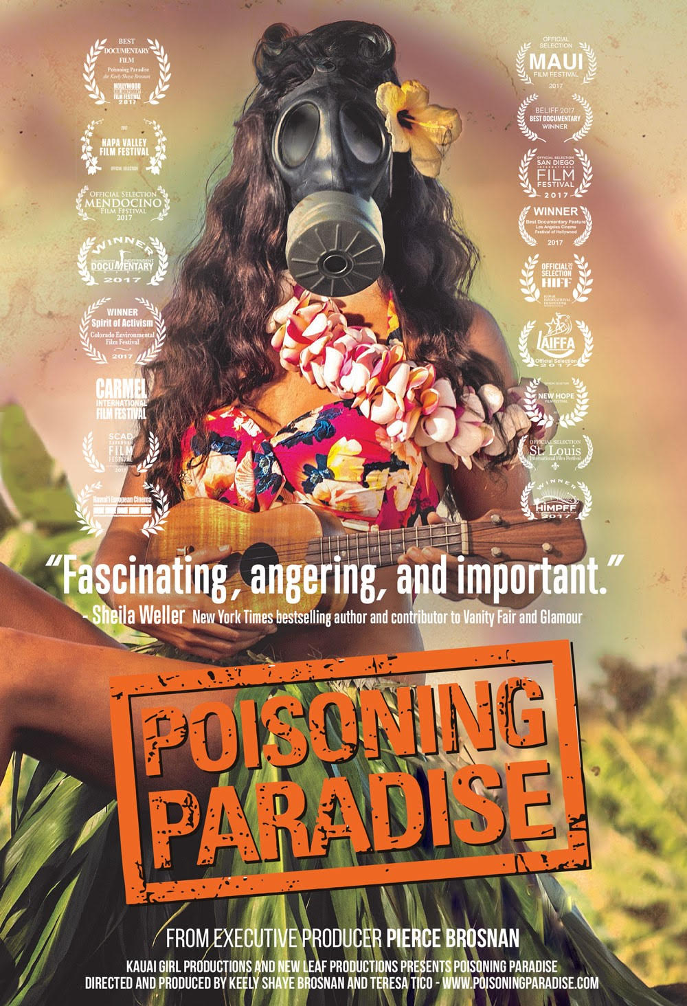 "Keely Brosnan on her documentary ""Poisoning Paradise"""
