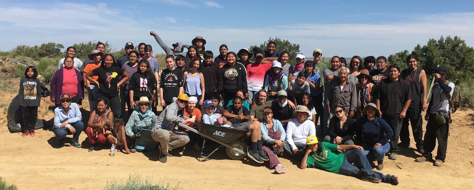 2019 Intercultural Conversations participants at the Hopi Reservation. (Photo credit: Alexis Bunten, Bioneers Indigeneity Program Co-Director)