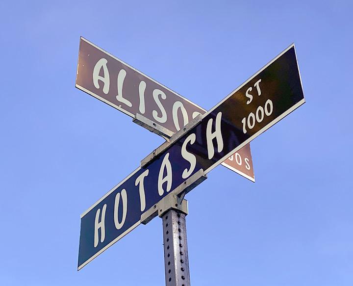 Hutash Street, Santa Barbara